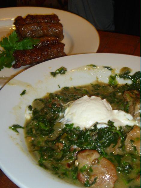 Kafana spinach